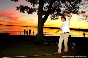 Sunset Slackin