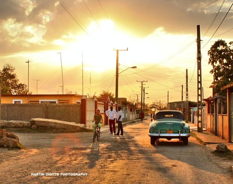 Cuba Sunset Bike